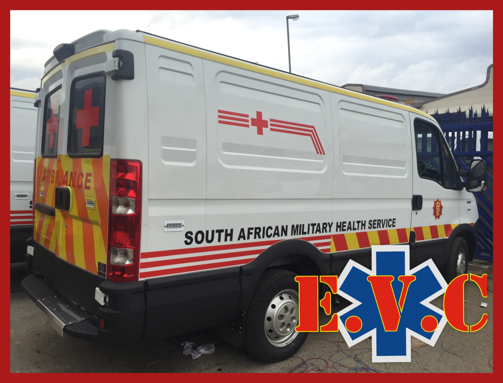 IVECO Ambulance for South African Military Health Services