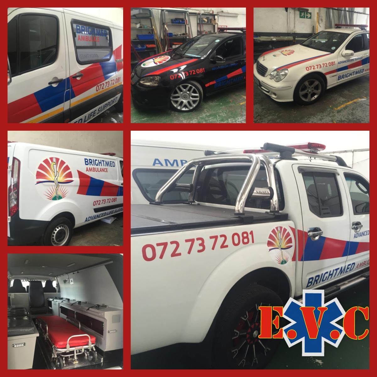 New Ambulances and Response Cars for Brightmed Ambulance