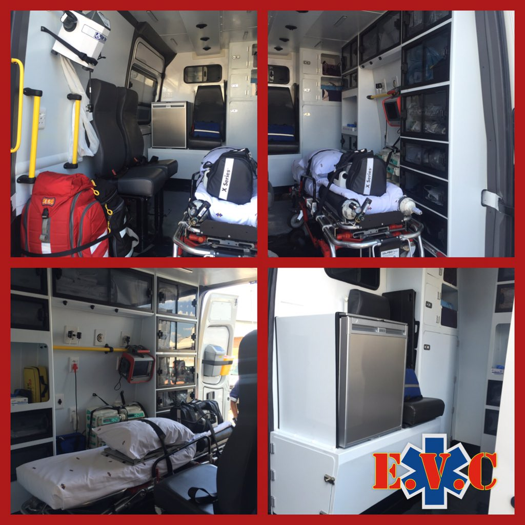New ICU Ambulance