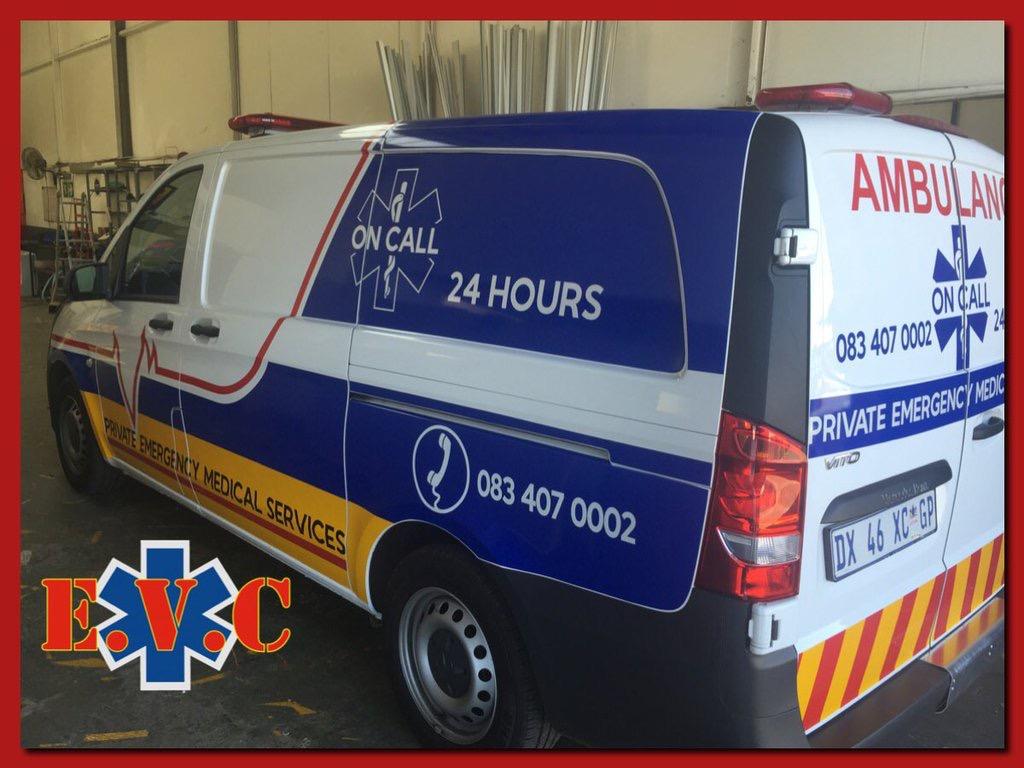 New Vito Ambulance Delivered