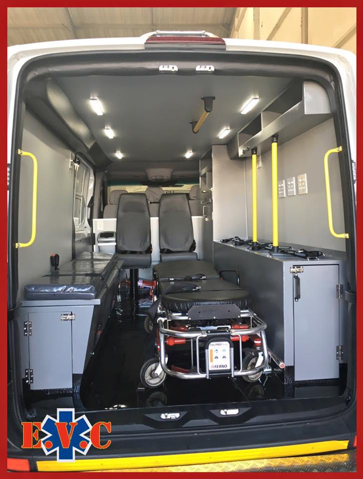 Mercedes-Benz Sprinter 4 x 4 Ambulance