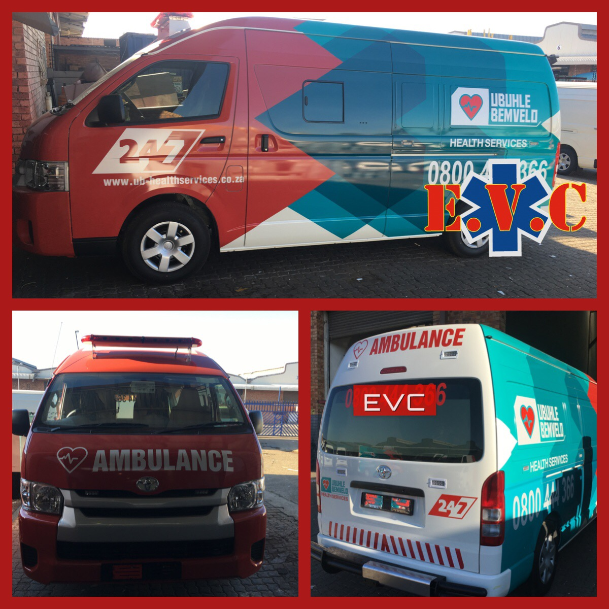 Ambulance Conversions And Full Wrap
