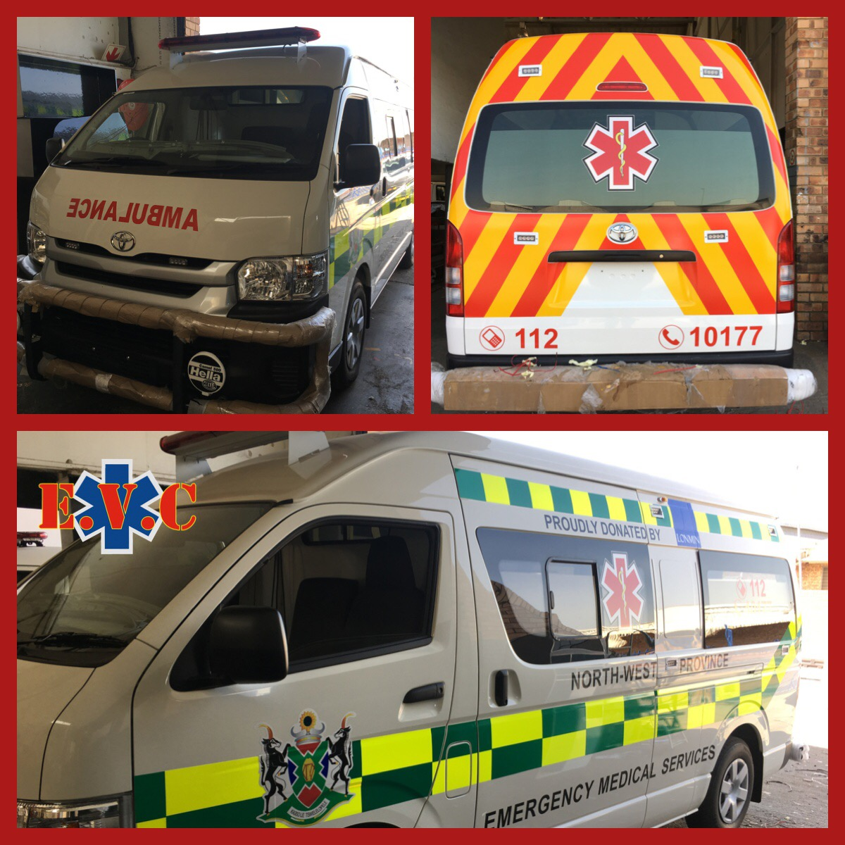 Ambulances Built on Toyota Quantums