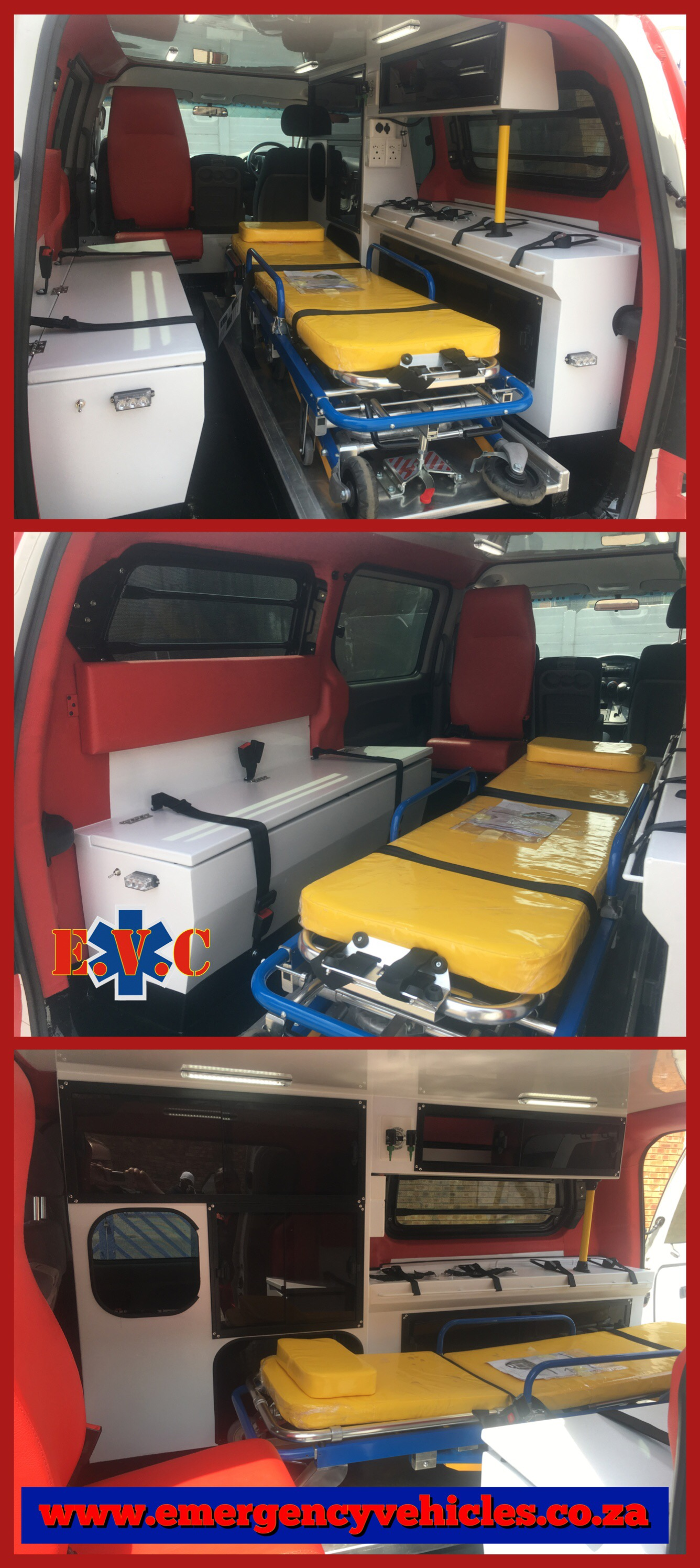 Newly Designed Hyundai H1 Ambulance Conversion